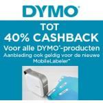 Cashback actie labelmakers en tapes