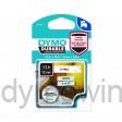 Dymo 1978364 duurzame D1 tape zwart op wit 12mm