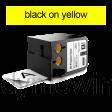 DYMO 1868775 XTL universele vinyl tape 54mm zwart op geel