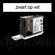 DYMO 1868710 XTL kabelwikkel 51x21mm zwart op wit