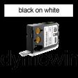DYMO 1868670 XTL Label 12x19mm zwart op wit