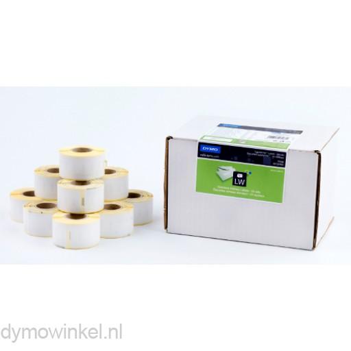 Dymo 13188, grootverpakking adresetiketten 89x28mm