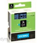 Dymo 53716 D1 Tape 24mm x 7m zwart op blauw