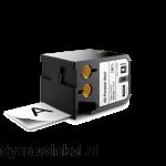 DYMO 1868755 XTL universele vinyl tape 54mm zwart op wit