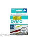 Dymo 45808 D1 Tape 19mm x 7m zwart op geel